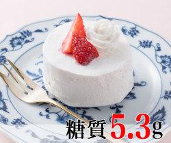 軽やかホイップの苺ショートケーキ